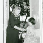 Aug58 - Alma Thomas visits
