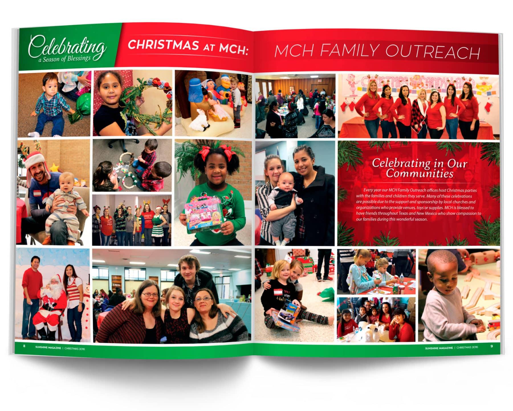 MCH Family Outreach Magazine Spread