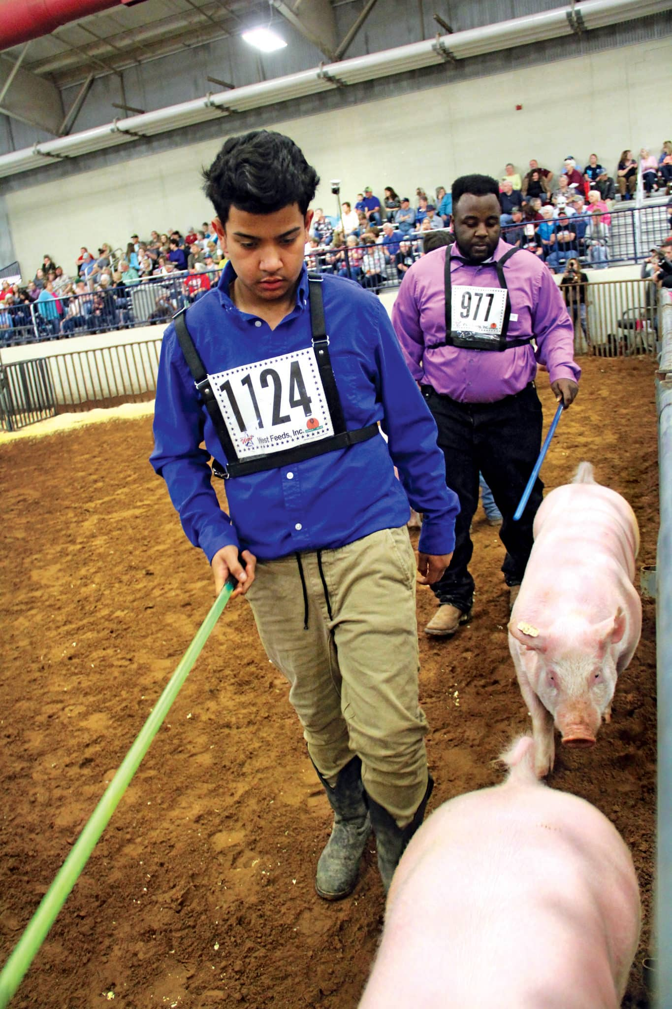 Students at Ag Show