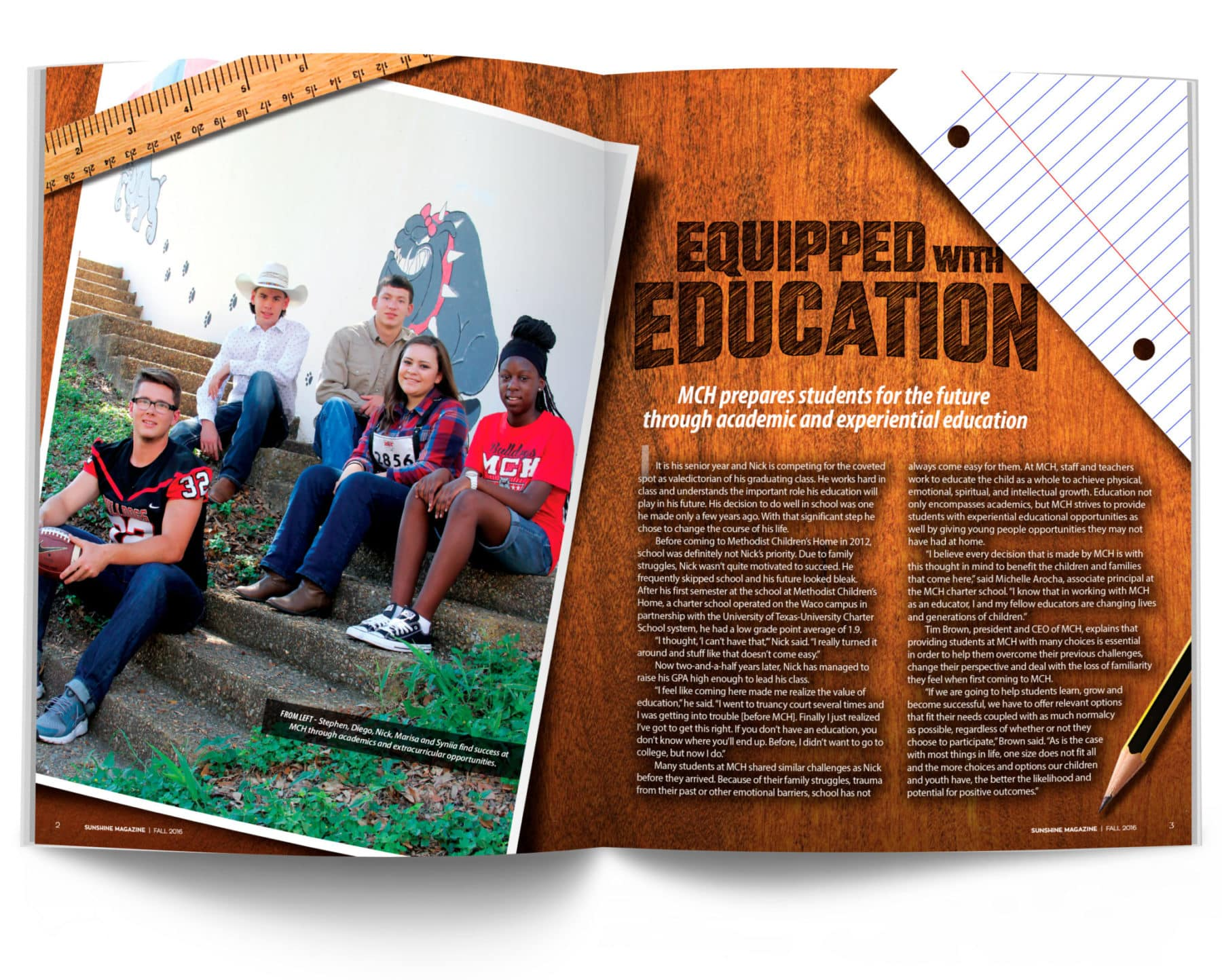 Equipped with Education Spread