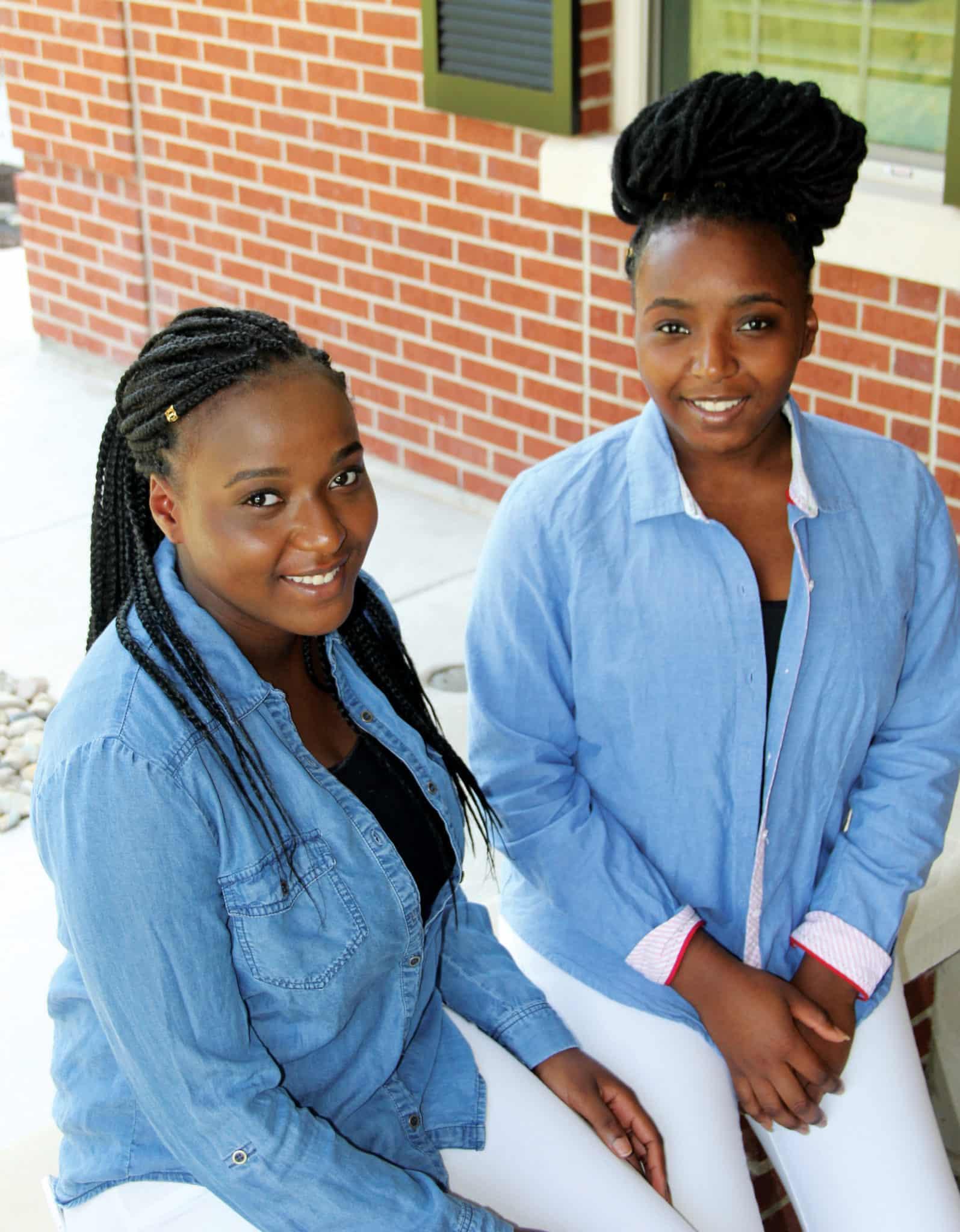 Youth profile - Christal and Christina
