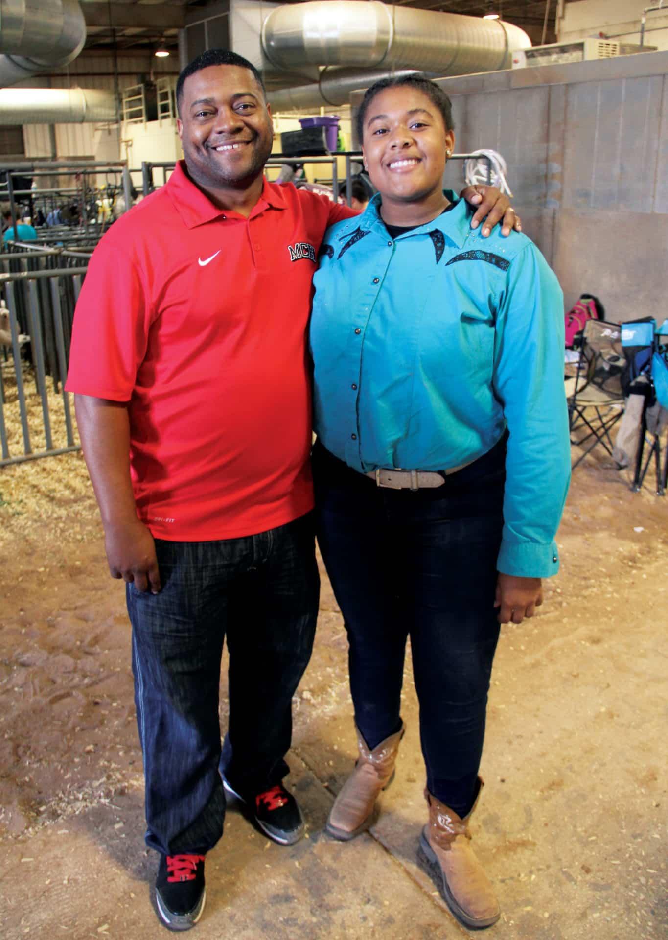 Photo of Ahmad and Rainn