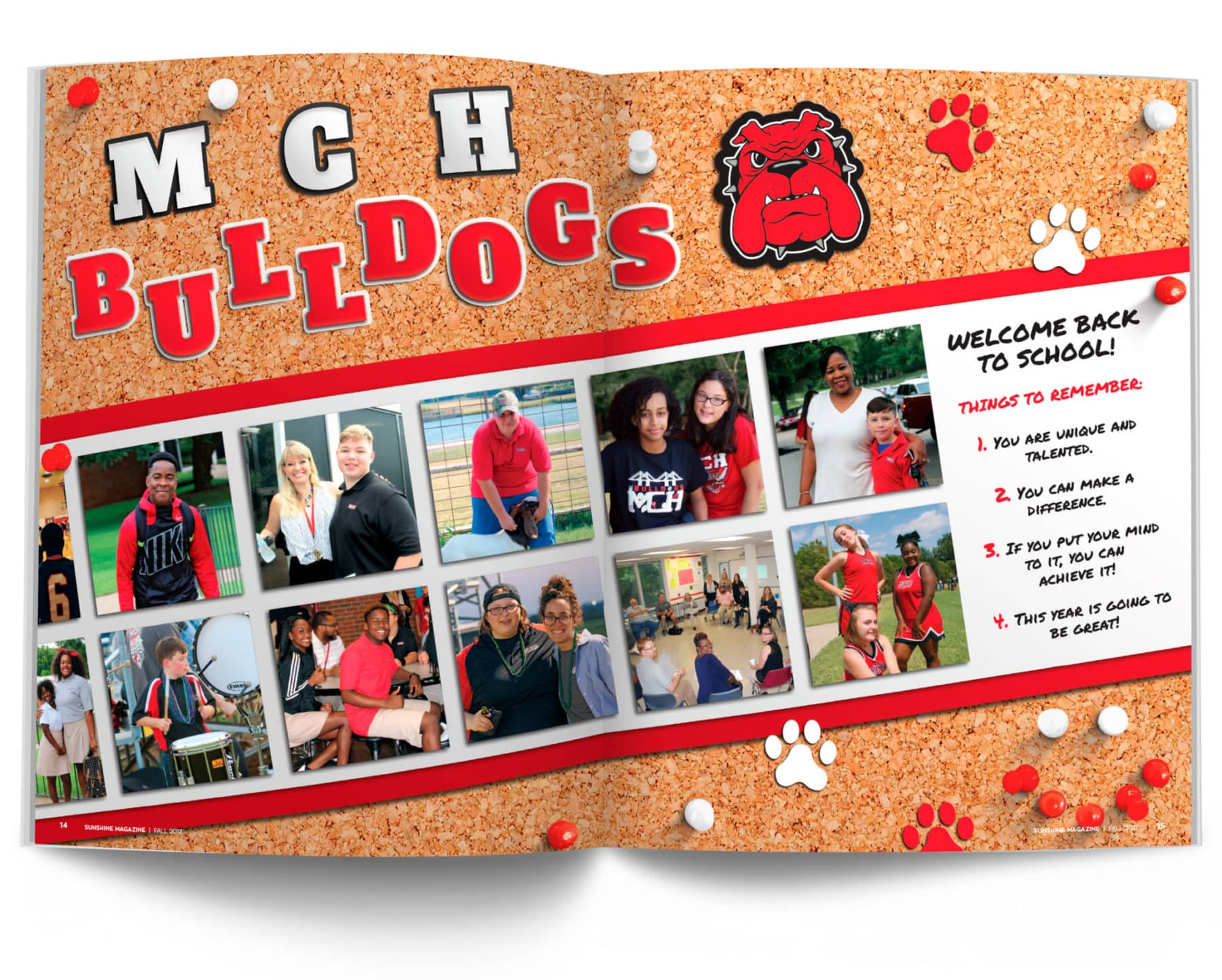 Magazine Spread - MCH Bulldog Photos