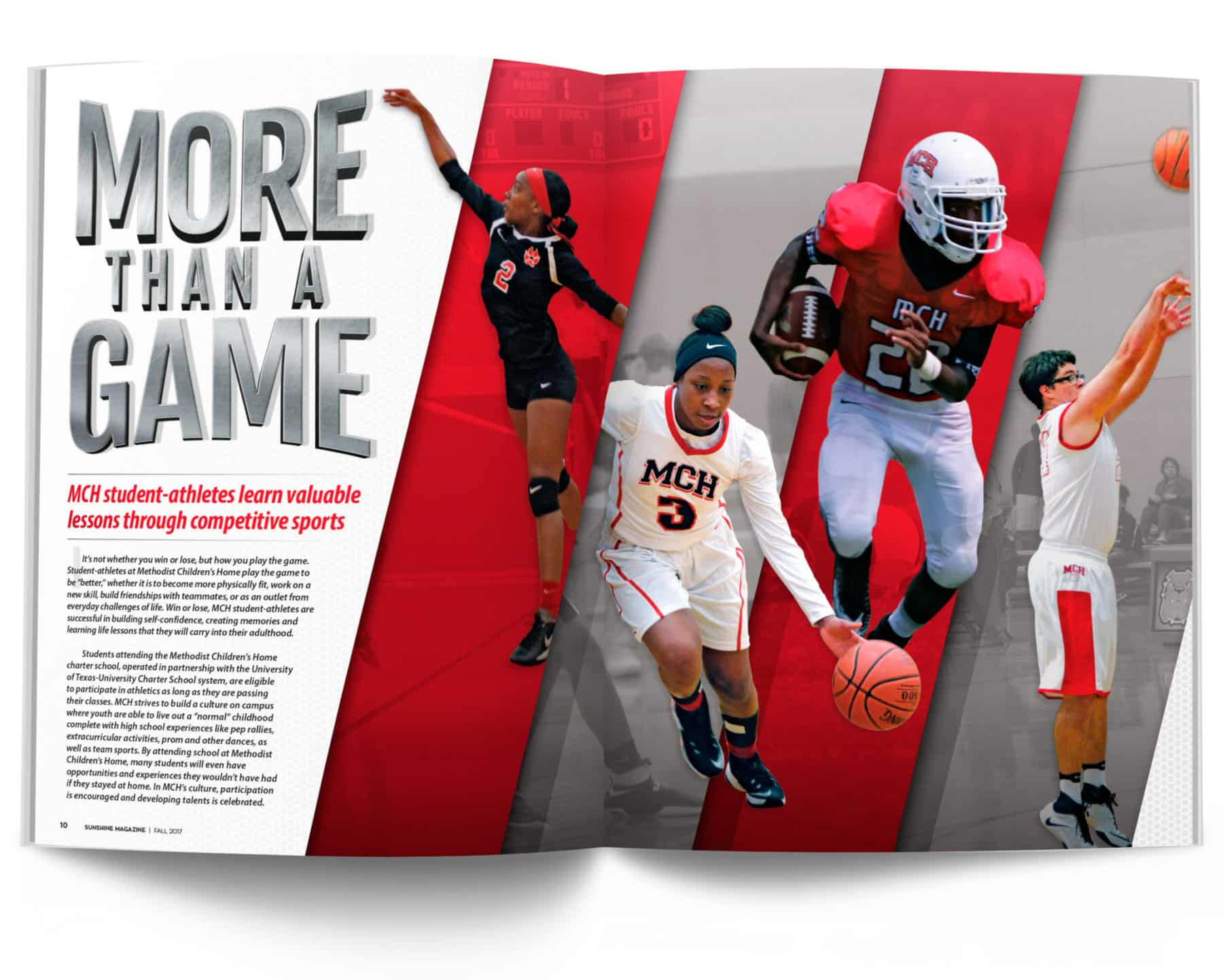 Magazine Spread - More than a Game