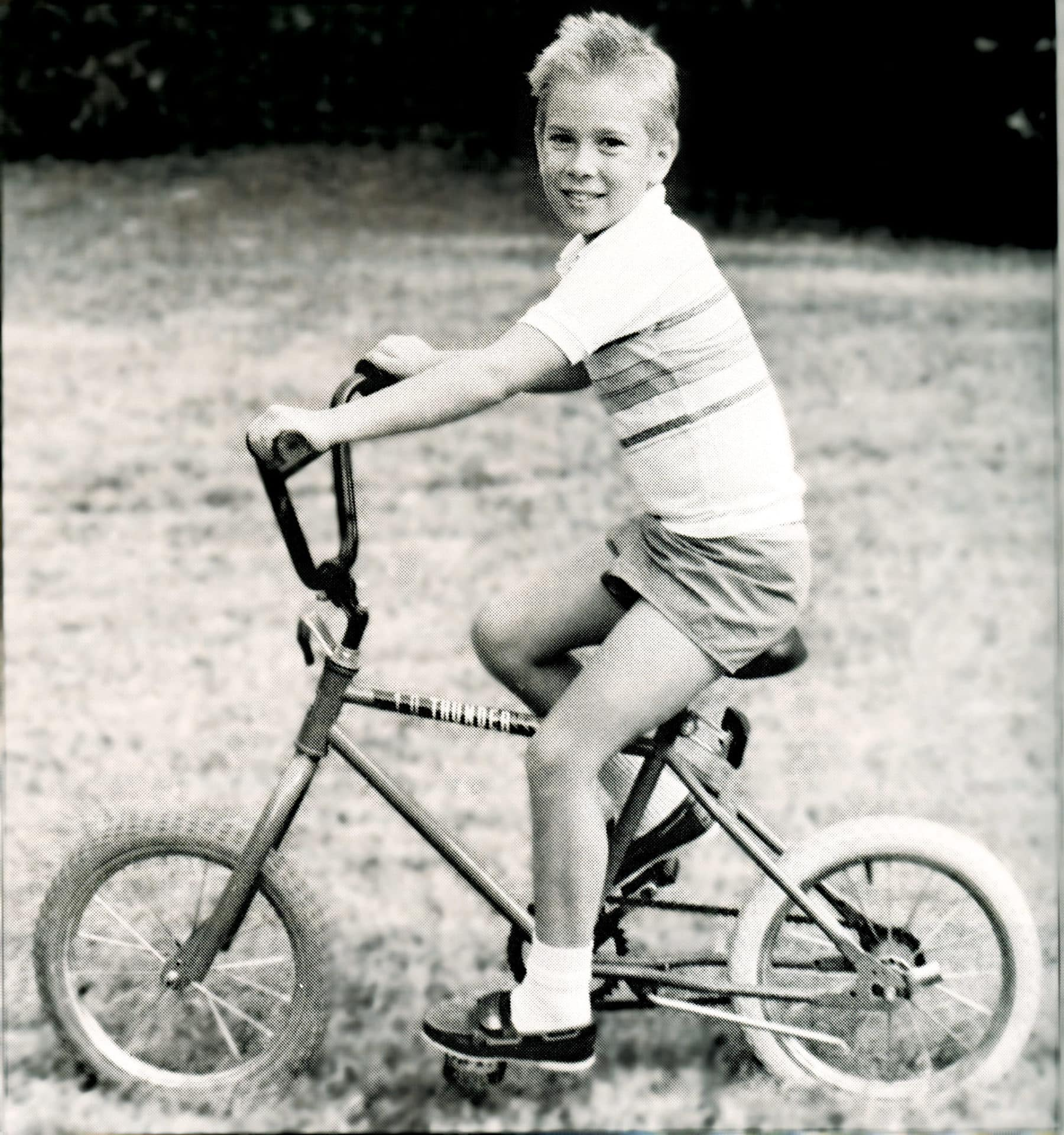 1989 Boy on Bike