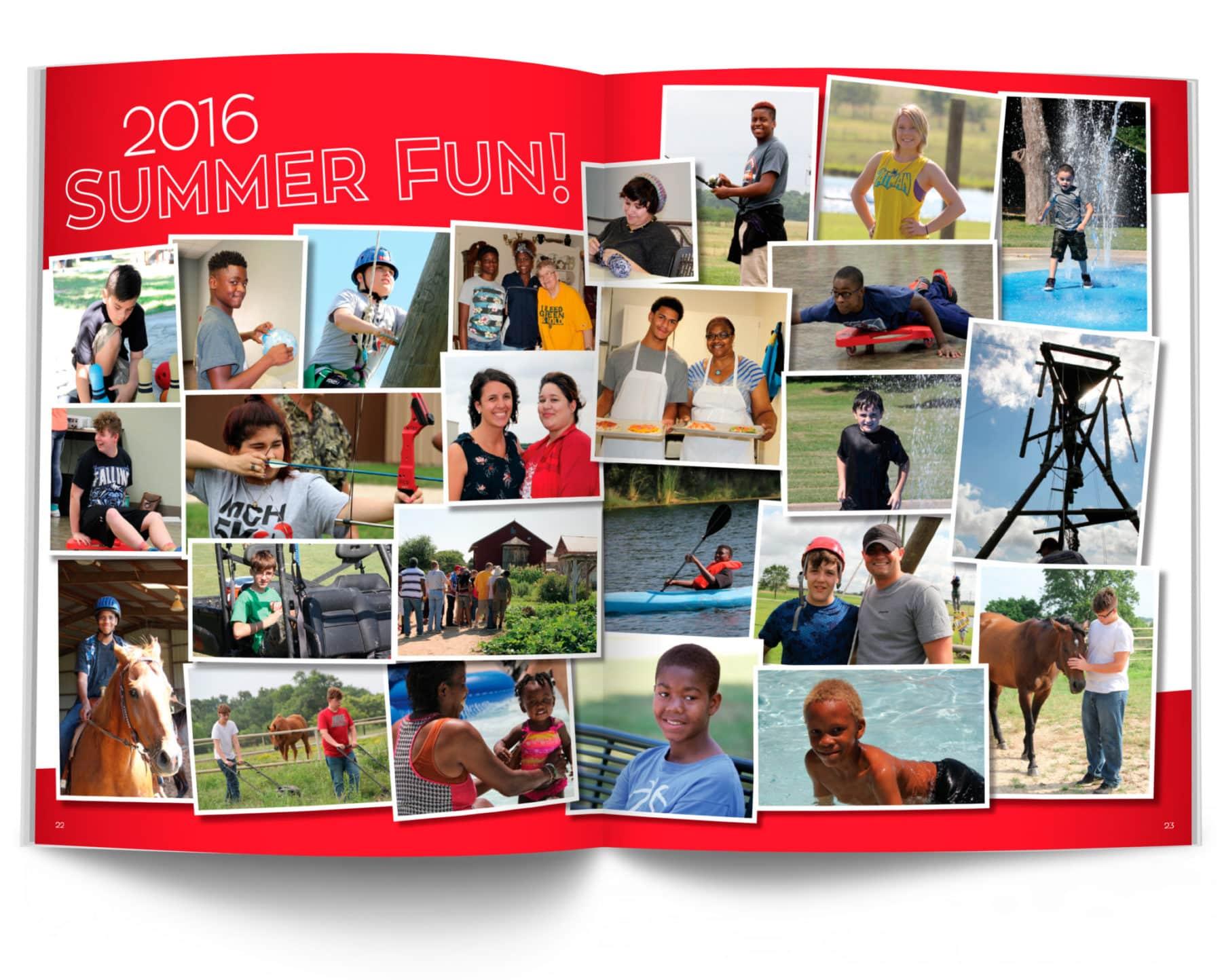 MCH Summer Fun 2016 Magazine Spread
