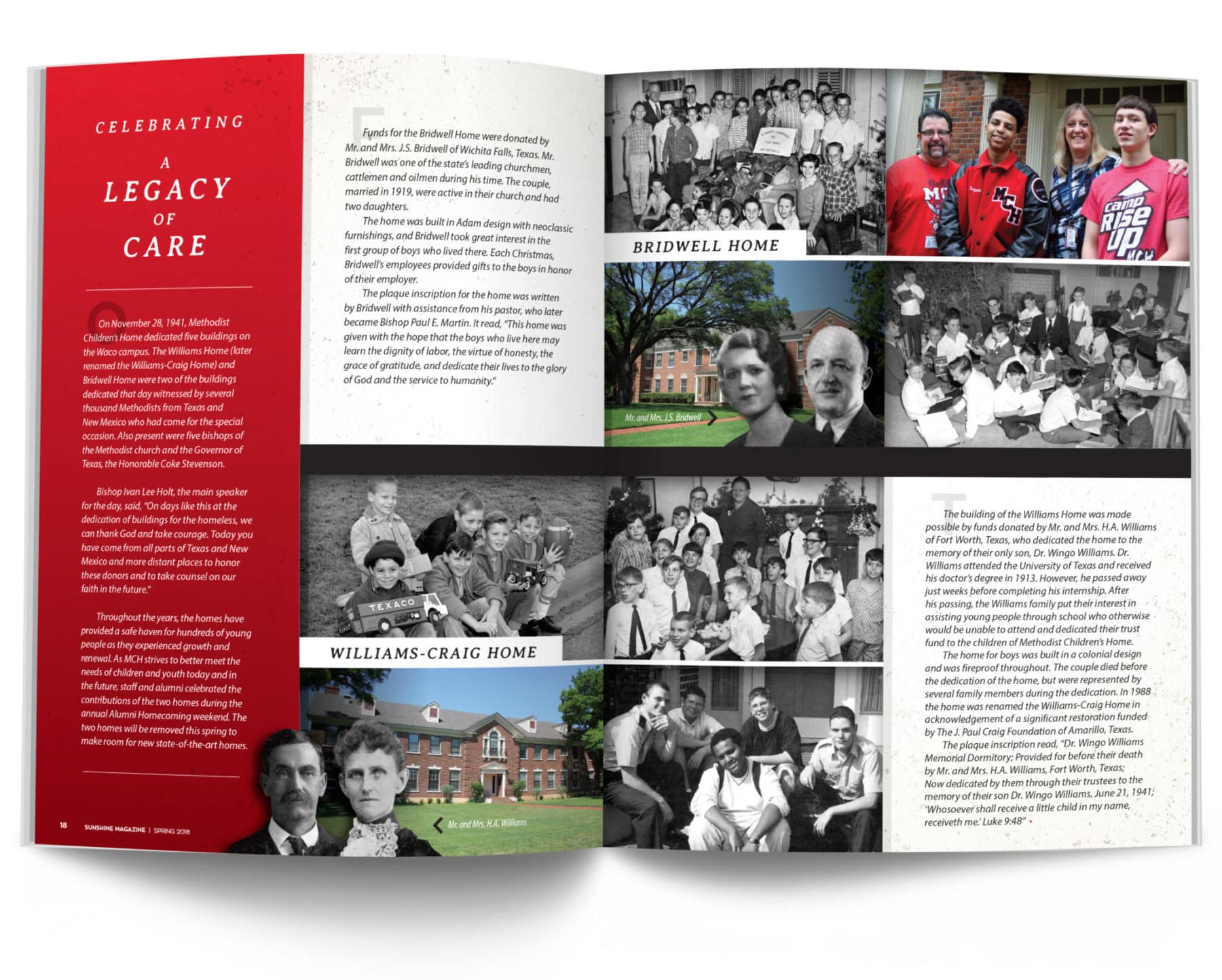 Celebrating a Legacy of Care Spread