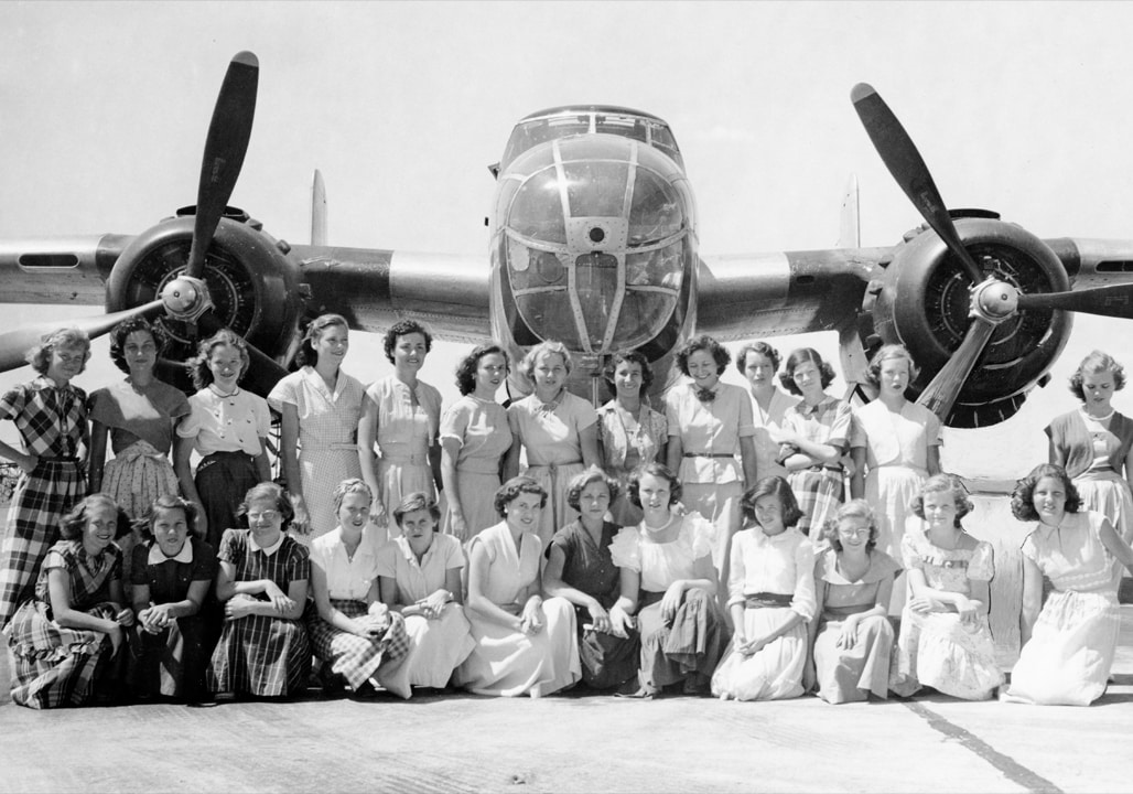 Connally Air Force tour 1950