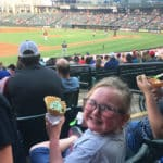 Church hosts MCH youth at minor league game