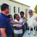 FFA first girls class goats 2009