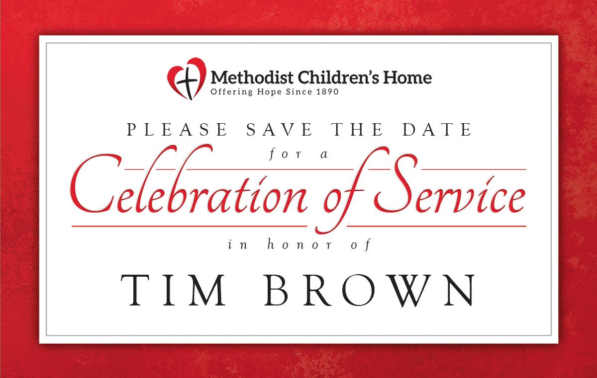 Tim Brown Celebration